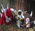 Diablo 3 Peluş Oyuncakları by Arixystix